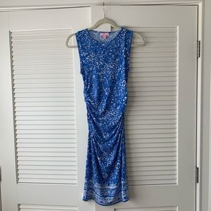 Lily Pulitzer Body Con floral print dress